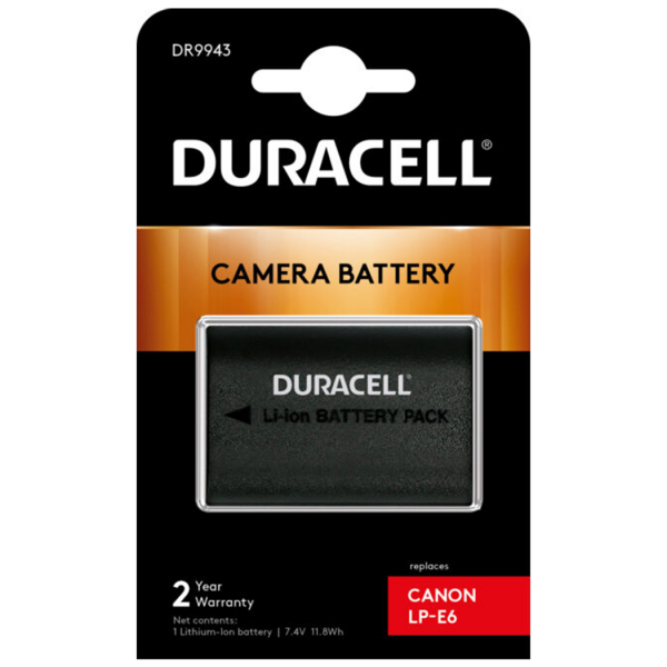 Replacement Canon LP-E6N Battery in Packaging