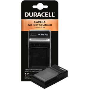 Duracell USB charger for Canon LP-E17 Battery in its packaging