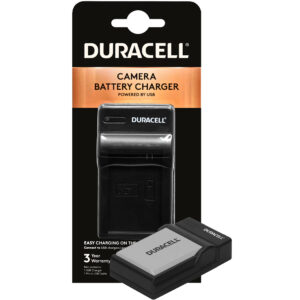 Duracell USB charger for Canon LP-E5 Battery in its packaging