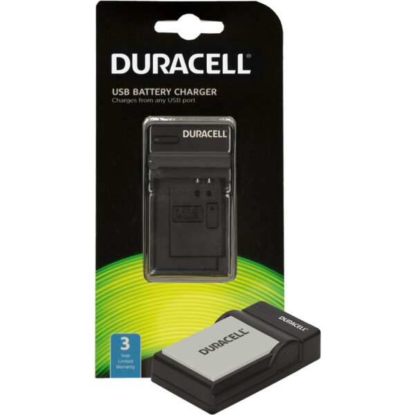 Duracell USB charger for Canon NB-10L Battery in its packaging