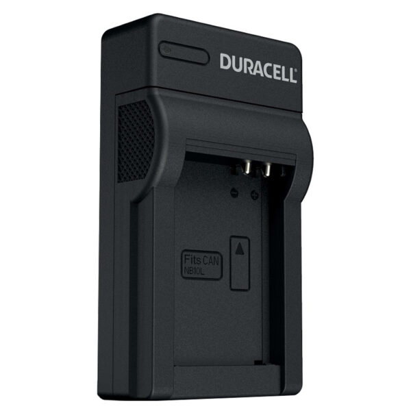 Duracell USB charger for Canon NB-10L Battery isometric view