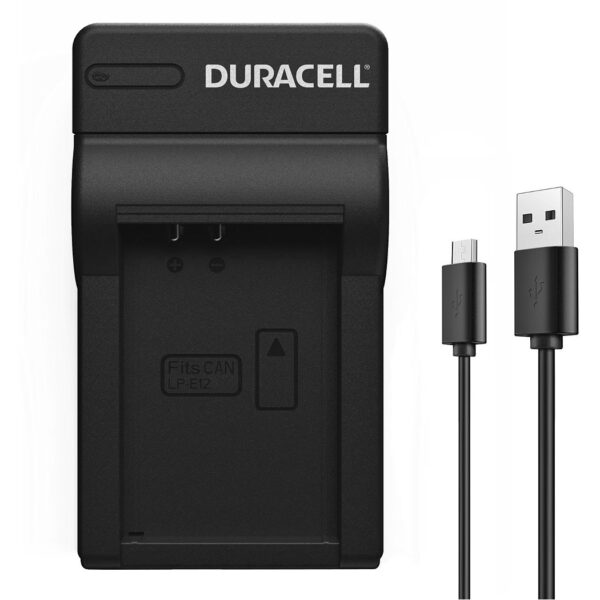 Duracell USB charger for Canon NB-10L Battery product face