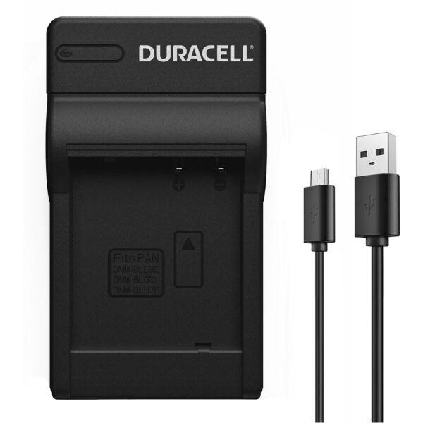 Duracell USB charger for Panasonic DMW-BLE9 Battery product face