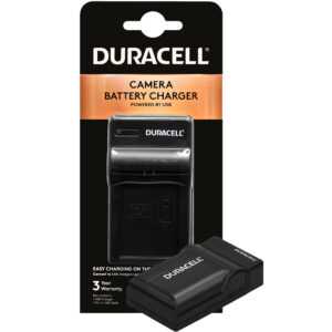 Duracell USB charger for Panasonic  VW-VBT190/380 Battery in its packaging
