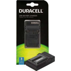 Duracell USB charger for Sony NP-F550 Battery in its packaging