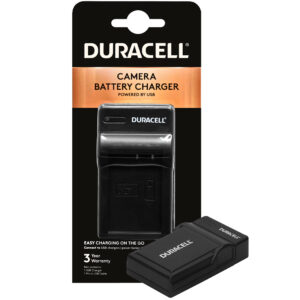 Duracell USB charger for Canon LP-E10 Battery in its packaging