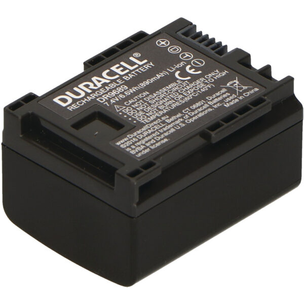 Replacement Canon BP-808 Battery Back View