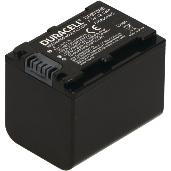 Replacement Sony NP-FV70 and NP-FV90 Battery Back View